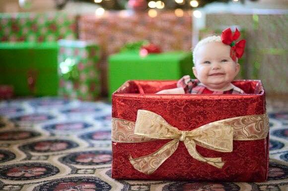 ideas-para-fotos-bebes-navidad-fin-de-ano (14)   Decoracion de ...