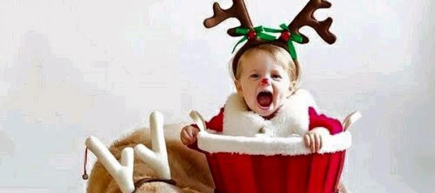 Ideas para fotos de bebes navidad fin de año