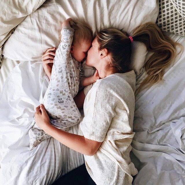 Ideas para fotos mom and baby