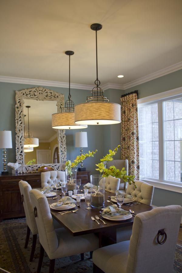 Muebles para comedor | Tendencias 2019 - 2020 para decorarlos on Farmhouse:-Cra1Rtrksu= Dining Room Curtains  id=50688