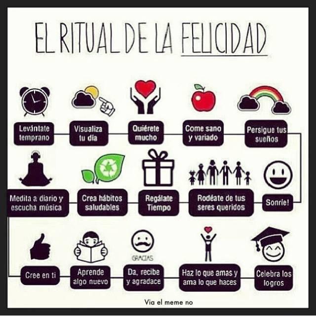 Ritual para la felicidad