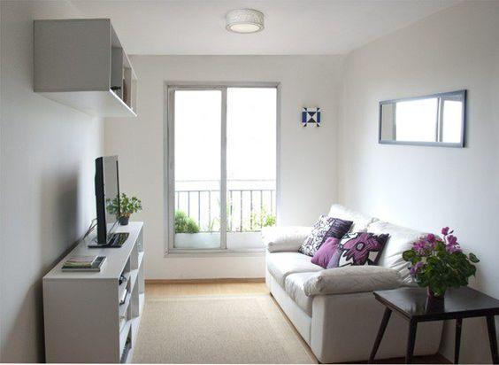 Como decorar una sala pequeña