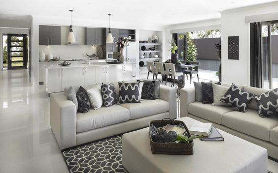 Concepto abierto cocina comedor sala 2 decoracion de for Living comedor cocina mismo ambiente