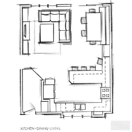 Decoracion de comedor y sala juntos en espacio peque o for Disenos de sala comedor pequenos