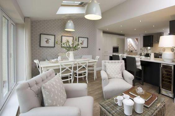 Decoracion de comedor y sala juntos en espacio peque o Decoracion de espacios abiertos en casa