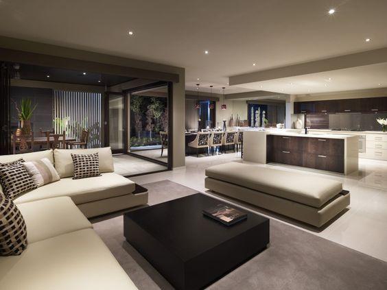 Decoracion de comedor y sala juntos en espacio peque o for Comedor y cocina integrados