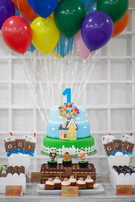 Ideas para decorar fiestas con tematica de up 12 - Idea de decoracion ...