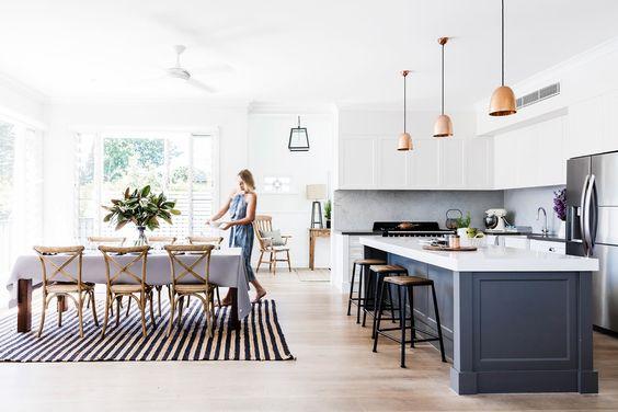 Imágenes de cocinas de concepto abierto