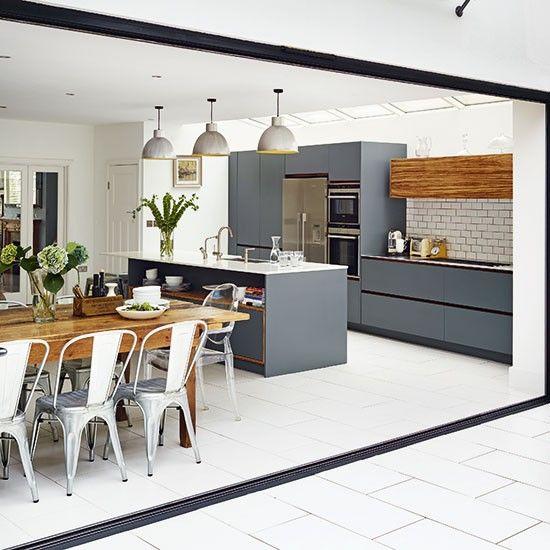 Imagenes de cocinas de concepto abierto 4 decoracion for Fachadas de cocinas