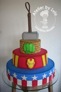 Fiesta de los vengadores Avengers