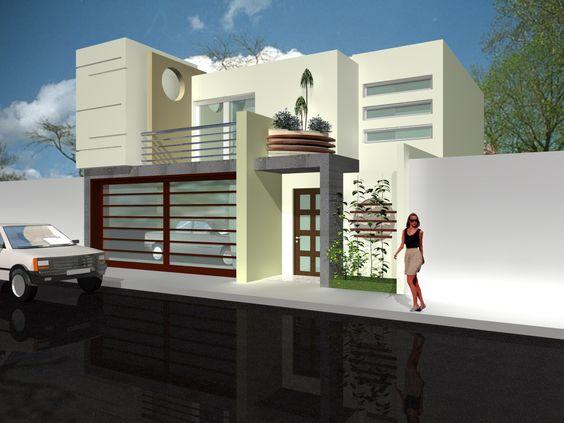 Cocheras de casas de infonavit 5 como organizar la for Casa minimalista fraccionamiento