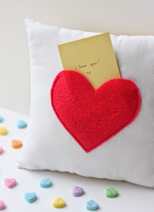 las mejores ideas para cojines para regalar el dia del amor y la amistad diy y hacer este día inolvidable para los dos