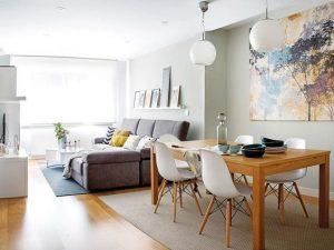 como decorar una sala y comedor (2)