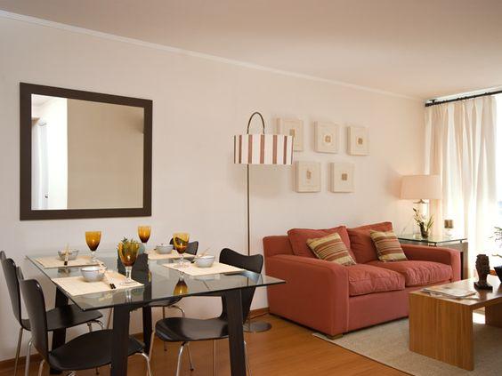 Como decorar una sala y comedor 3 decoracion de for Como organizar la sala de mi casa