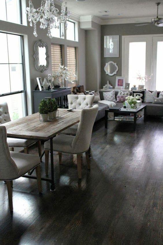 como decorar una sala y comedor (4)