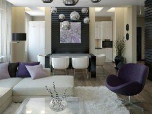 como decorar una sala y comedor (5)