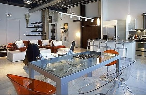 Como decorar una sala y comedor 6 decoracion de for Como organizar una sala comedor pequena