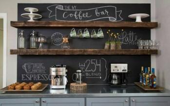 Como hacer un Coffee Bar en Casa