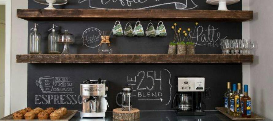 Como hacer un coffee bar en casa curso de organizacion de hogar aprenda a ser organizado en - Keuken back bar ...