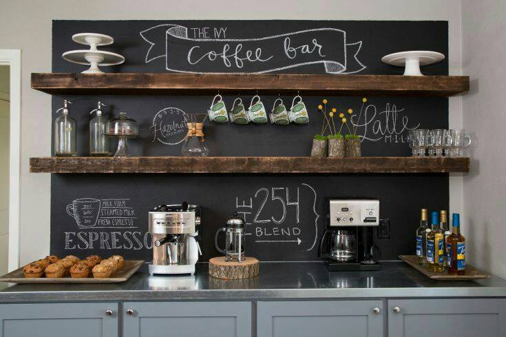 Como hacer un coffee bar en casa decoracion de for Crear mi casa