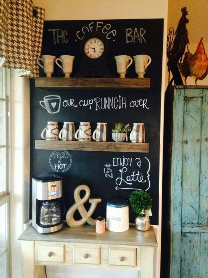 como hacer un coffee bar en casa (2) | Decoracion de interiores ...