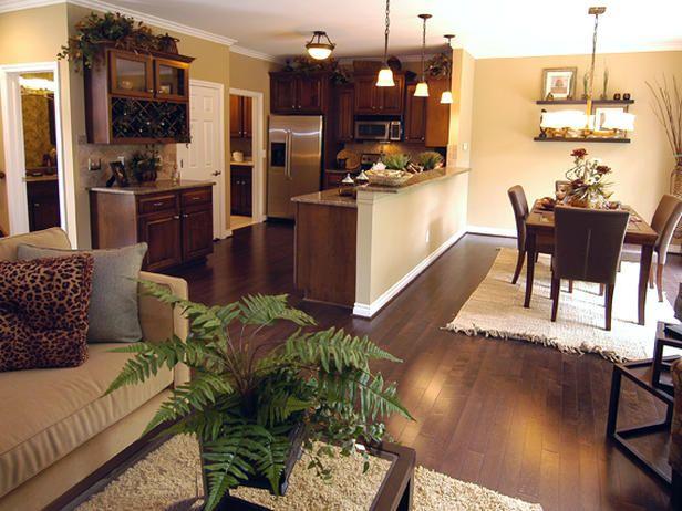 Decoracion de comedor y sala juntos en espacio pequeno 13 for Decoraciones de casas modernas 2016