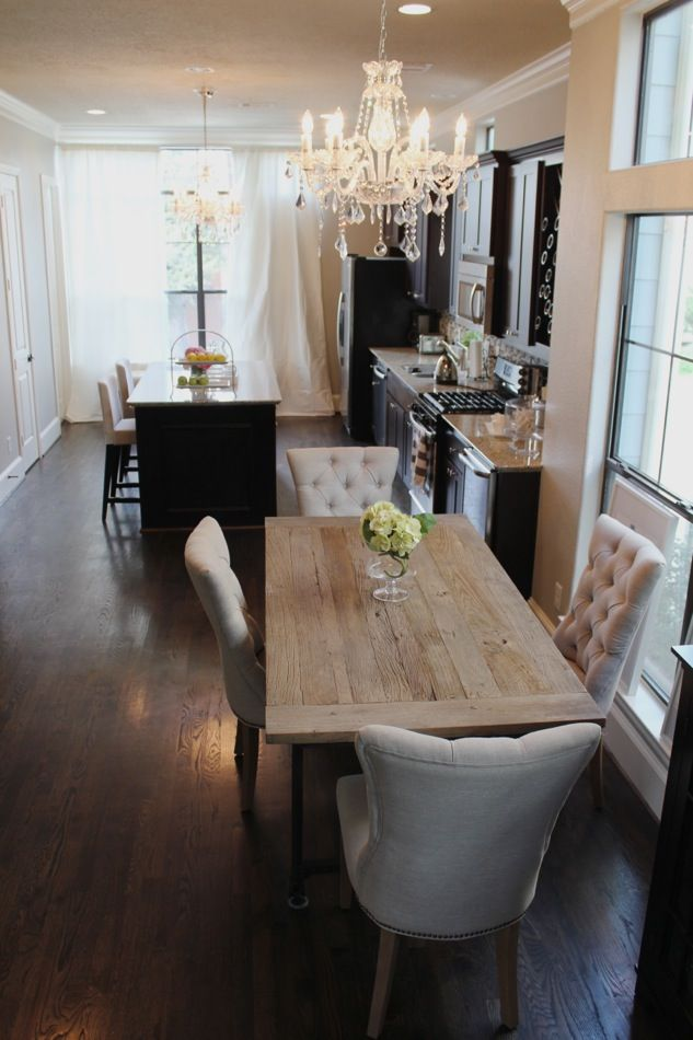 Decoracion de comedor y sala juntos en espacio pequeno 15 for Decoracion de sala comedor y cocina