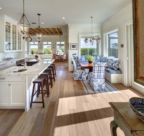 Decoracion de comedor y sala juntos en espacio pequeno 16 for Casa con cocina y comedor juntos