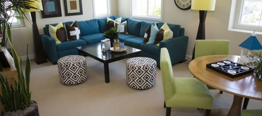 Decoracion de comedor y sala juntos en espacio peque o for Como decorar espacios pequenos sala comedor