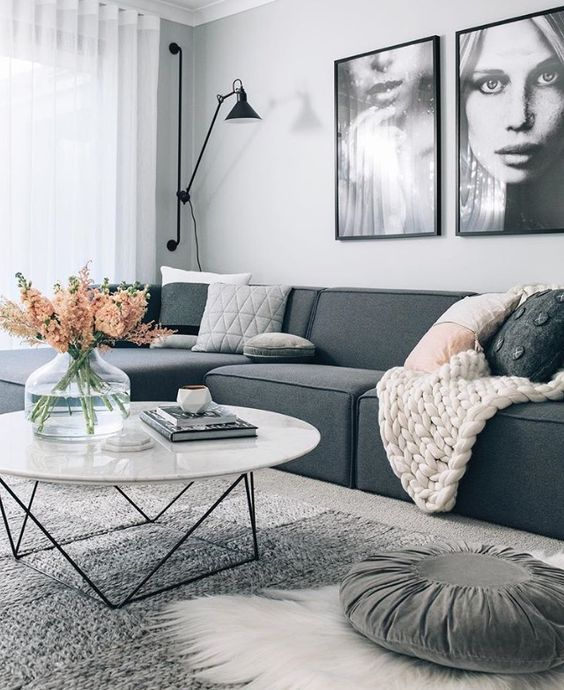 Decoracion de salas modernas como decorar tu sala este 2019 - Decoracion decoracion de interiores ...