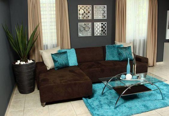 decoracion de salas color cafe chocolate (8)
