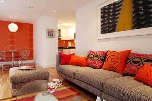 Decoracion de salas color chedron 3 decoracion de for Como organizar la sala de mi casa