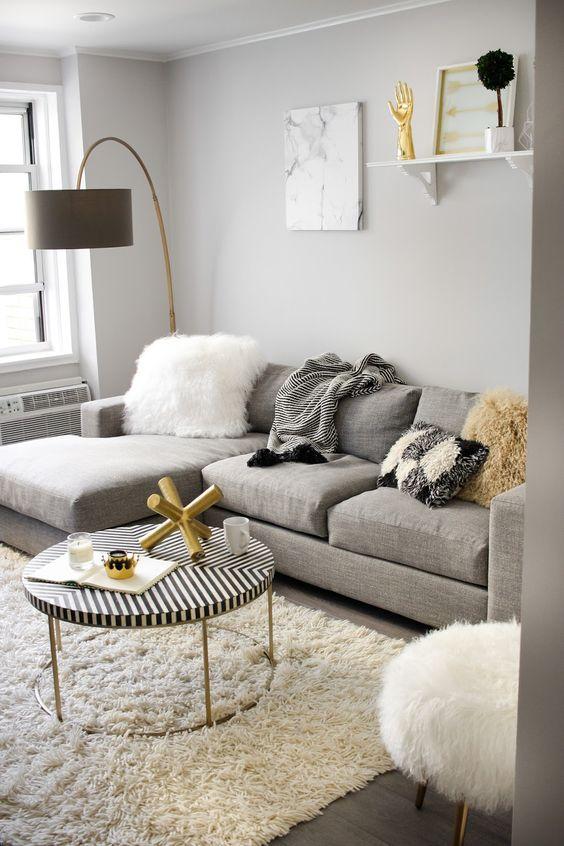 decoracion de salas color gris (1)