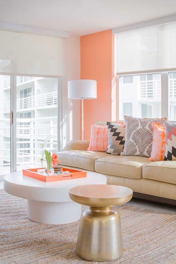 decoracion de salas color naranja (4)