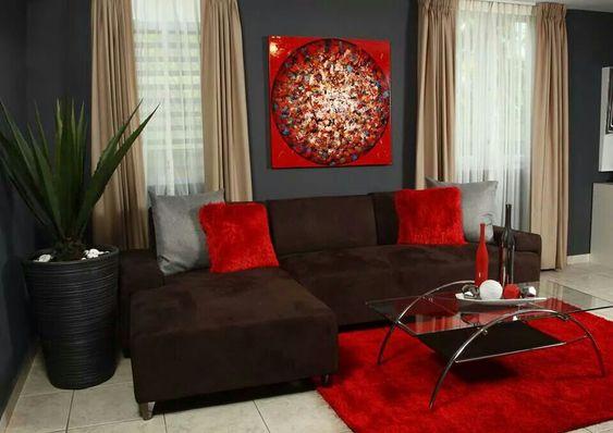 decoracion de salas color rojo (2)