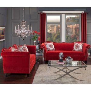 decoracion de salas color rojo (3)