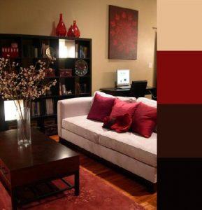 decoracion de salas color rojo (4)