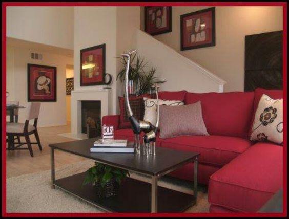 decoracion de salas color rojo (5)
