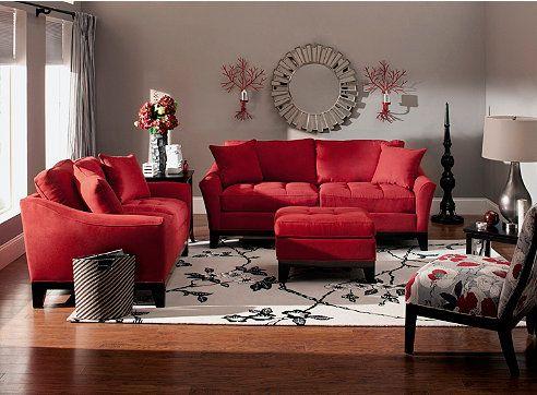 decoracion de salas color rojo (7)