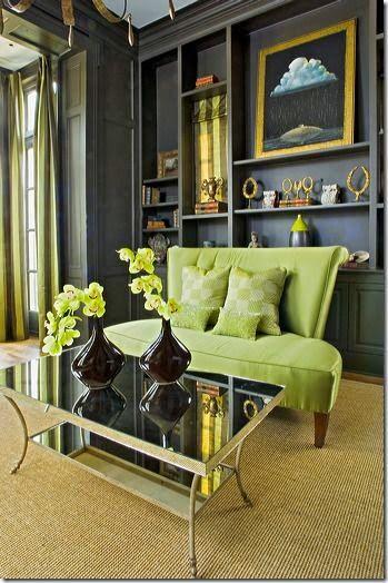 decoracion de salas color verde olivo (2)