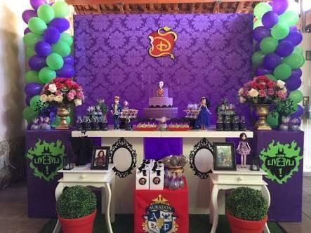 Decoracion descendientes fiesta infantil decoracion de - Decoracion interiores infantil ...
