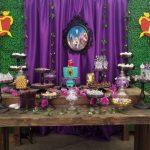 decoracion descendientes fiesta infantil