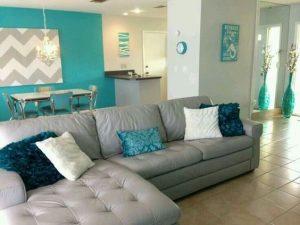decoracion salas color gris