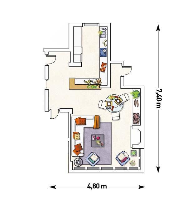 Diagramas de salas de estar 5 decoracion de interiores for Organizar una sala de estar