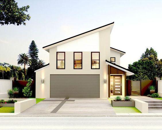 Diseno cocheras casas infonavit 7 for Ideas para decorar fachadas de casas