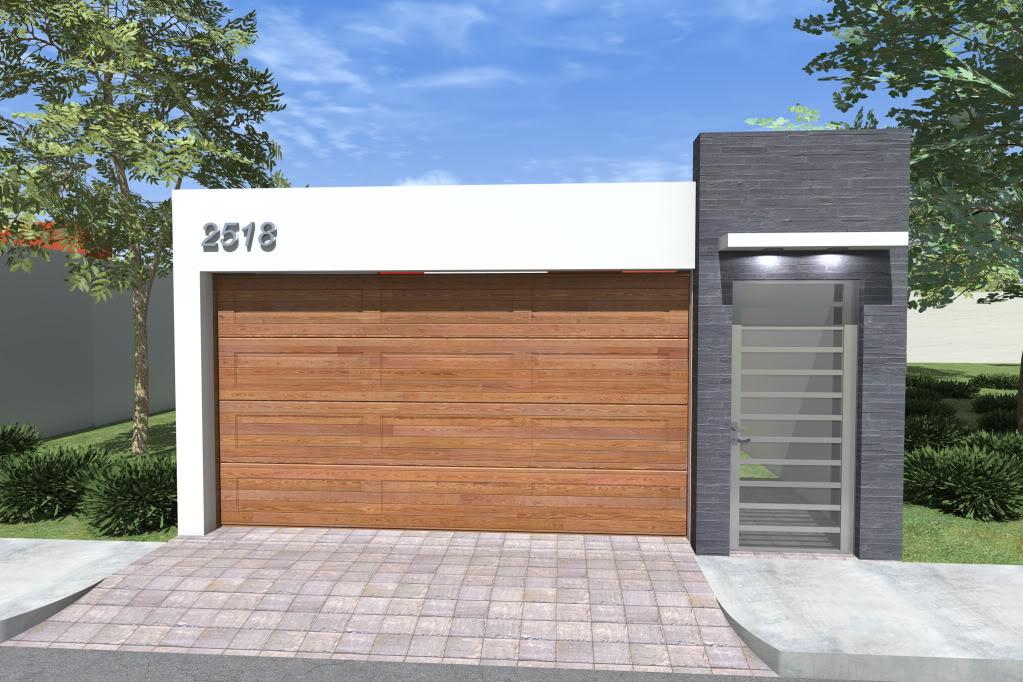 Diseno de cocheras casas de interes social 6 como - Puertas para cocheras electricas ...