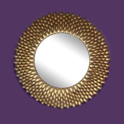 Diy decoracion de espejos con cucharas 1 decoracion de for Decoracion de espejo con cucharas