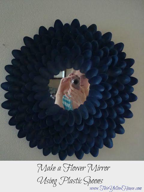 Diy decoracion de espejos con cucharas 8 decoracion de for Decoracion de espejo con cucharas