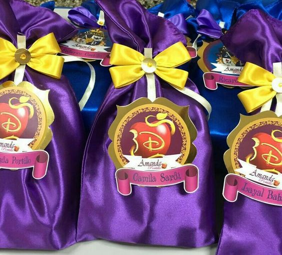 dulceros para fiesta de descendientes