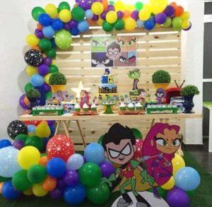 fiesta tematica para varones de 5 y 6 años